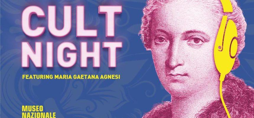 26 Gennaio | CULT NIGHT – featuring Maria Gaetana Agnesi